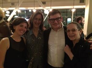 Jenai Cutcher West, Ginger Farley, Zac Whittenburg, Liz Liebman (not pictured: Susan Manning). Photo by Susan West