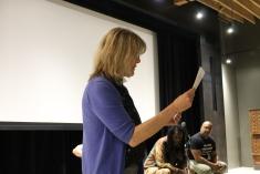 Nancy introduces the films